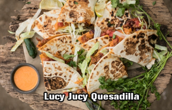 JUCY LUCY QUESADILLA